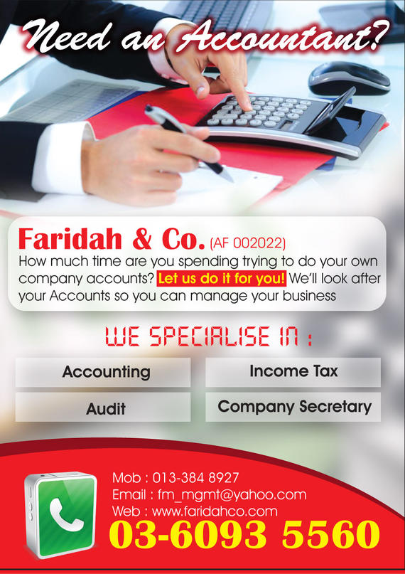 Faridah & Co. Accounting Service